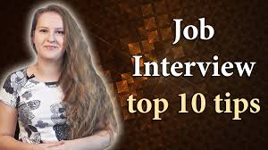 №85 english job interview part 1 top 10 tips for a successful №85 english job interview part 1 top 10 tips for a successful job interview
