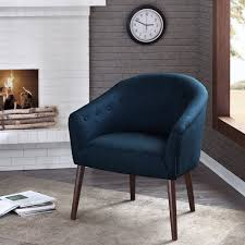 camilla mid century navy blue accent chair camila lounge chair 07
