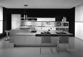 Black White Kitchen Designs Minimalist Black And White Kitchen Design Idea Home Design Awesome