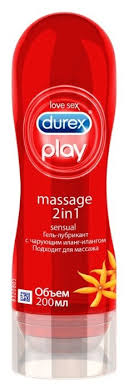 <b>Гель</b>-<b>смазка Durex Play</b> Massage 2in1 Sensual с чарующим Иланг ...