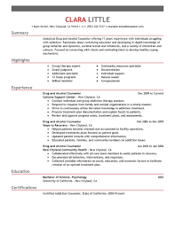 social services resume examples social services sample drug and alcohol counselor resume example