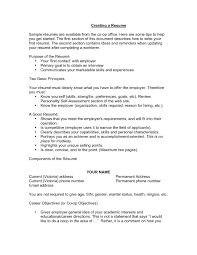 example of a good resume objective template example of a good resume objective