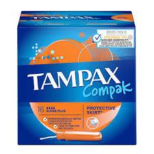 <b>Тампоны</b> с апликатором <b>Compak</b> Super Plus, <b>Tampax</b>, 16 шт ...