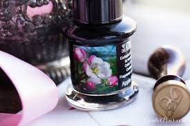 Apple Blossom scented ink,