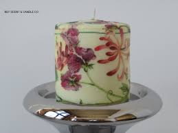 Image result for دکوپاژدستمال روی شمع