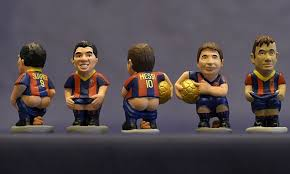 Image result for caganers messi, suarez, neymar