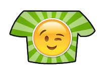 חולצת אימוגי קורץ