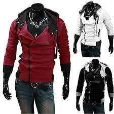 Hot Sale <b>2015 New</b> Men'S Hoodies Diagonal Zipper Design ...