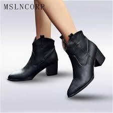 <b>Big size</b> 34 45 woman martin boots Zipper New autumn winter boots ...