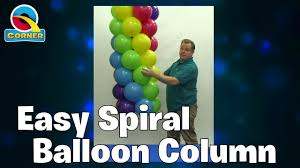 How to make a <b>5 balloon</b> spiral garland - Easy to follow - YouTube