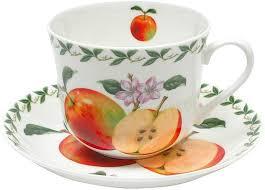 """<b>Чашка с блюдцем Maxwell</b> & Williams """"Яблоко"""", 480 мл — купить в ..."""