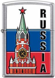<b>Зажигалка Zippo</b> Classic <b>207</b> KREMLIN FLAG RUSSIA в рассрочку