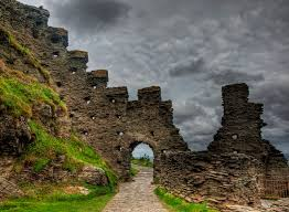 Image result for castle ruins map
