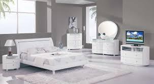 emily bedroom set light oak: emily bedroom in white high gloss by global w options