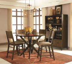 chair dining room tables rustic chairs: rustic cherry rectangular table formal dining room set