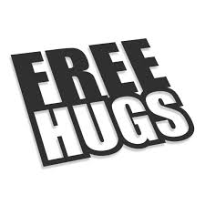 <b>Free Hugs</b> | Car, moto, bike, 3D stickers | Large format <b>printing</b>