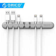 <b>ORICO Cable Organizer Silicone</b> USB Cable Winder Desktop ...
