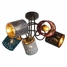 <b>Люстра Globo</b> Lighting Ticon <b>15266</b>-<b>5D</b>, E14, 125 Вт — купить по ...