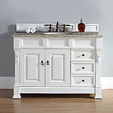 image of james martin furniture brookfield 48 inch single vanity with drawers in cottage white photos bathroom vanity