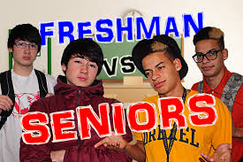high school freshman vs seniors high school freshman vs seniors