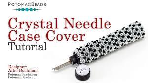 <b>Crystal</b> Needle <b>Case Cover</b> - DIY Jewelry Making Tutorial by ...