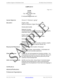 how to write a cv career development how to write a cv