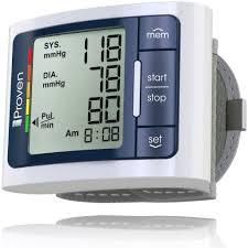 <b>Digital Automatic Blood Pressure</b> Monitor Wrist - BPM-337