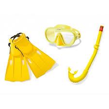 <b>Набор для плавания INTEX</b> 55648 (маска, трубка, ласты) от 14 лет
