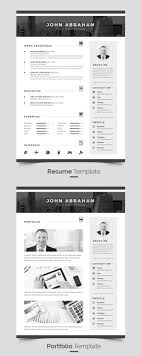 18 professional cv resume templates and cover letter idevie material resume template
