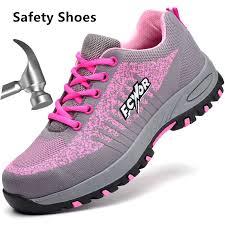 <b>Steel Toe</b> Safety Shoes Men Women <b>Summer</b> Anti Puncture <b>Mesh</b> ...