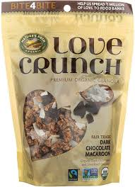 <b>Гранола Nature's Path Love</b> Crunch Dark Chocolate Macaroon ...