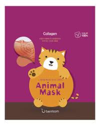 <b>Маска тканевая с морским</b> коллагеном Animal Mask Series Cat 25мл