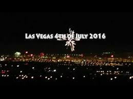 Las Vegas Fireworks 4th of July 2016 - YouTube