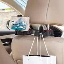 <b>Car Back Seat</b> Hanging Hook Mobile Phone <b>Rear Seat Bracket</b> ...