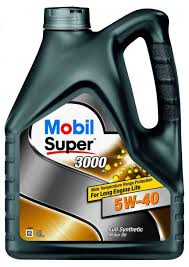 Купить <b>Масло</b> моторное <b>Mobil Super</b> 3000 5W40 <b>синтетическое</b> ...