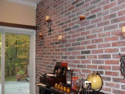 The Brick Dining Room Furniture Interior Brick Wall Ideas With Good To Cover Imanada
