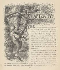 adventures of tom sawyer by twain complete chapter iv