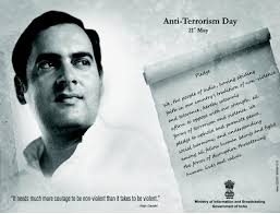 Image result for May 21: Anti-Terrorism Day