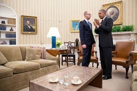 filearseniy yatsenyuk and barack obama standing in the oval officejpg fileobama oval officejpg