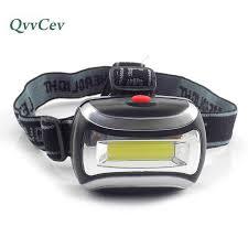 Mini small <b>COB</b> headlamp AAA battery head <b>light lamp</b> torch lampe ...