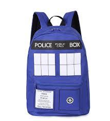 <b>Школьные</b> сумки с принтом <b>Doctor Who</b> Tardis для студентов ...