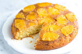 <b>Fresh Pineapple</b> Upside Down Cake Recipe