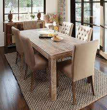 Distressed Dining Room Chairs Distressed Wood Dining Table All Old Homes