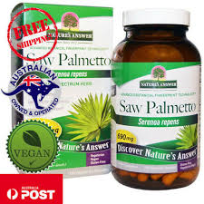 Nature's Answer, <b>Saw Palmetto</b>, <b>Full Spectrum</b> Herb, 690 mg, 120 ...
