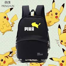 Lovely jumping Pikachu school <b>bags</b> Pikachu lovely <b>backpacks</b> ...
