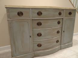 Two Tone Painting Two Tone Shabby Chic Drexel Buffet Dresser Buffet Dresser And