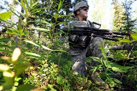 u s department of defense photo essay army spc paul unzueta pulls security as part of a situational training exercise during team