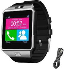 A2Z shop <b>m18</b> Fitness <b>Smartwatch</b> (Black Strap, Regular)