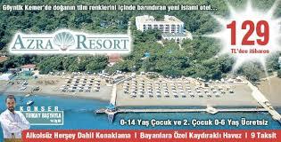 Kemer'in en iyi alkolsüz aile oteli Azra Resort