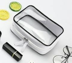 China Luxury Clear Zipper Toiletry/<b>Makeup Waterproof</b> Lock <b>PVC</b> ...